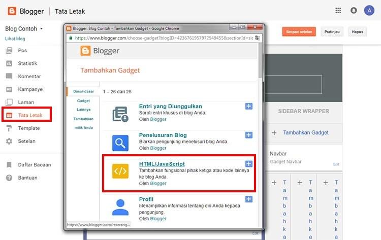 tambahkan-gadget-html-javascript-pada-blogger