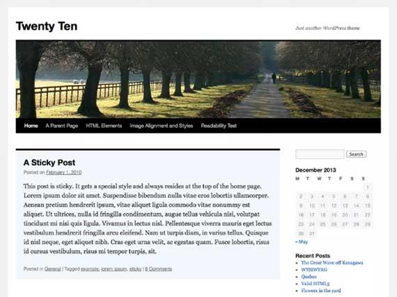 tema-wordpress-2010