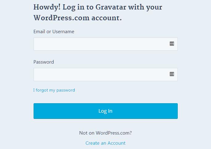 login-gravatar-dengan-akun-wordpress