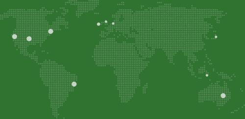 lokasi server Uptime Robot yang tersebar di berbagai negara