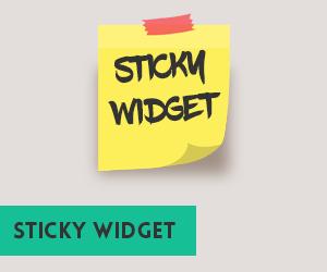 cara menambahkan fixed widget atau sticky widget pada sidebar wordpress