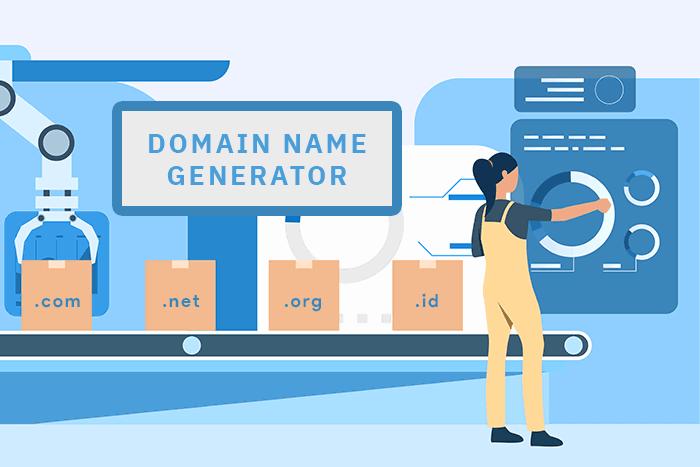 Cari nama domain unik dengan domain name generator