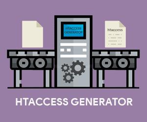 membuat dan mengedit kode htacces dengan mudah menggunakan htaccess generator