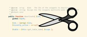 Menambahkan Kode pada file functions.php dengan plugin Code Snippet