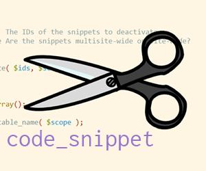 Menambahkan kode pada file function.php dengan mudah menggunakan plugin Code Snippets