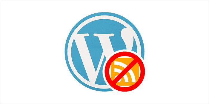 Cara Menonaktifkan RSS Feed pada WordPress