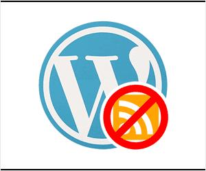 menonaktifkan rss feed pada website wordpress