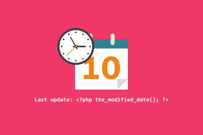Cara menampilkan tanggal publikasi berdasarkan update terakhir di blog Wordpress