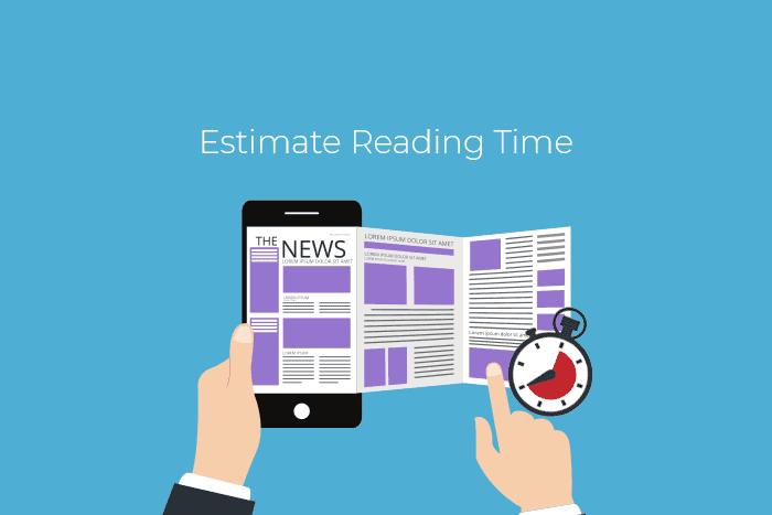 Menambah perkiraan estimasi waktu baca Wordpress