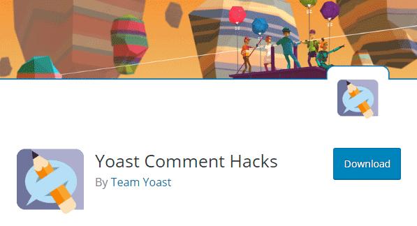 Plugin Yoast Comment Hacks