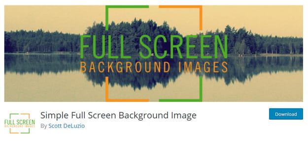 Memasang gambar background dengan plugin