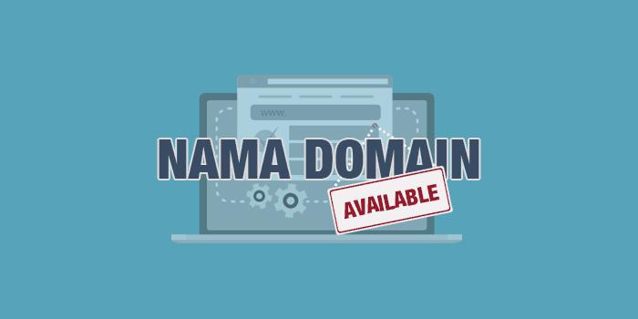 Cara periksa nama domain apakah tersedia atau tidak