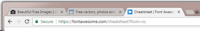Contoh favicon pada tab browser