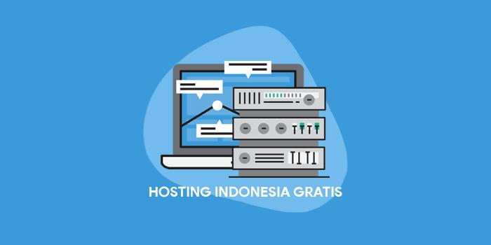 Hosting Indonesia gratis tanpa biaya