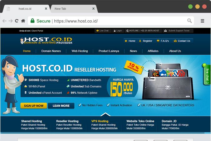 25++ Contoh web hosting gratis viral