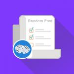 cara pasang widget random post untuk menampilkan pos acak di Wordpress dan Blogger