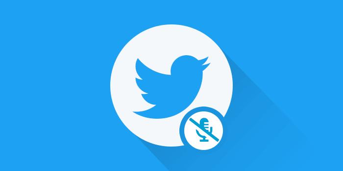 cara blokir hashtag, user, akun, kata dengan fitur mute twitter