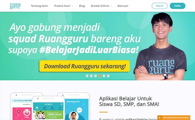 Situs freelance terbaik dan terpercaya di Indonesia Ruangguru