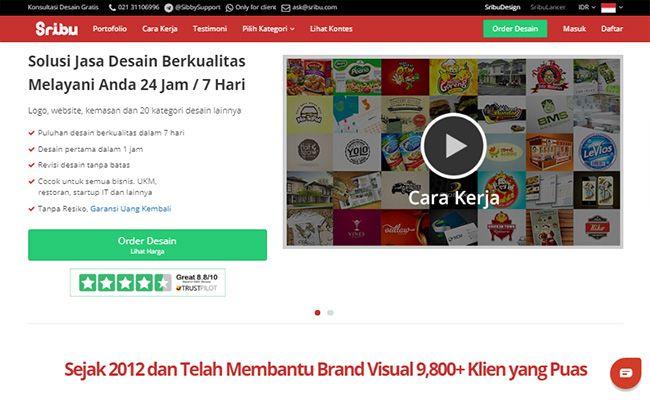 Situs freelance terbaik dan terpercaya di Indonesia Sribu