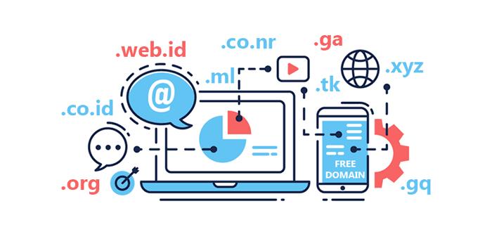 Cara dapat domain gratis tanpa syarat beli hosting dulu