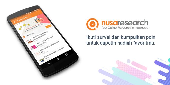 Review Nusaresearch, survei online (Online survey) Indonesia terpercaya yang terbukti membayar