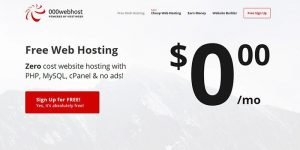 Panduan Lengkap Cara Daftar Hosting Gratis di 000WebHost