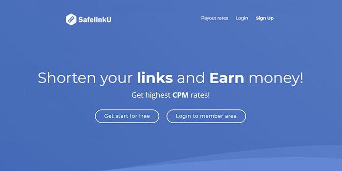 Menghasilkan Uang Secara Online Dengan Pemendek URL SafelinkU