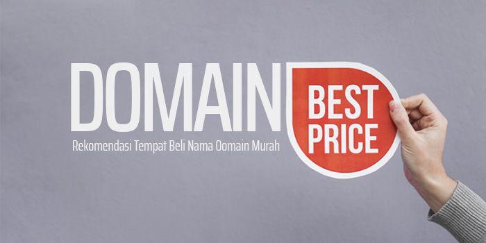 Rekomendasi tempat beli nama domain murah