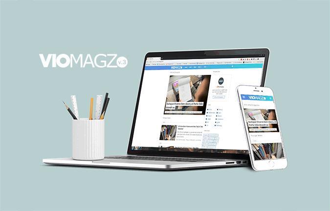 Viomagz adalah template Blogger responsive yang tampil bagus di perangkat apapun.