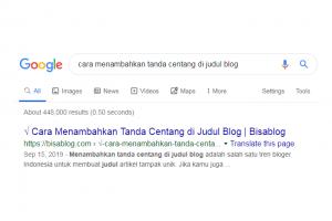 √ Cara Menambahkan Tanda Centang di Judul Blog