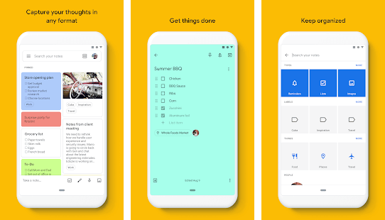Google Keep, aplikasi Android terbaik untuk blogger dalam mencatat ide tulisan