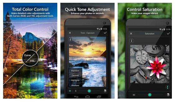 Aplikasi untuk membuat gambar keren, PhotoDirector.