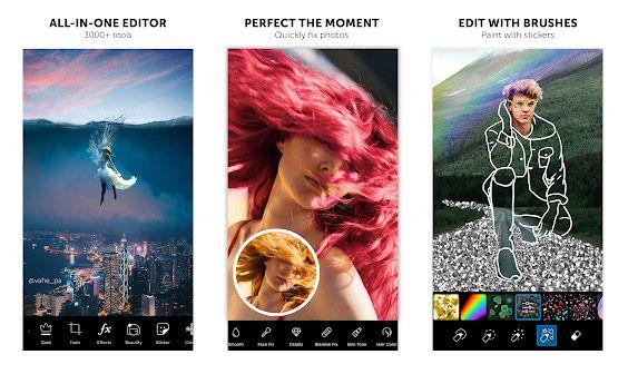 PicsArt, Salah satu editor foto terbaik di Android dengan 600 juta lebih pengguna aktif.