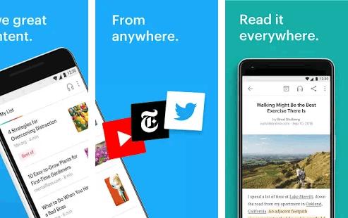 Pocket, aplikasi Android terbaik untuk blogger dalam menyimpan artikel