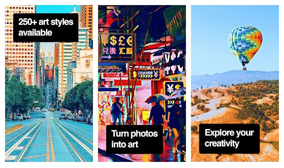 Ubah fotomu menjadi karya seni dengan aplikasi edit foto Prisma Photo Editor