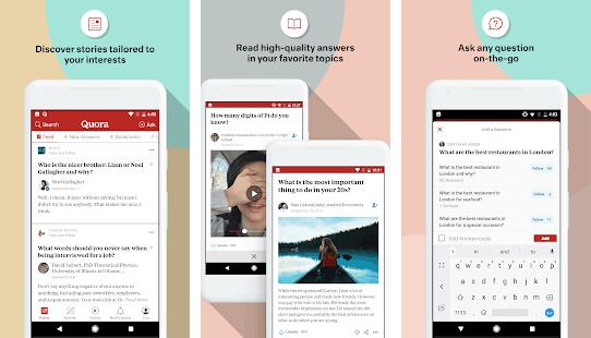 Quora, aplikasi Android terbaik untuk blogger dalam mencari ide tulisan