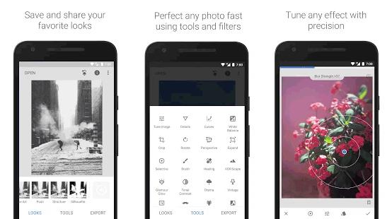 Snapseed, aplikasi Android terbaik untuk blogger dalam mengedit gambar