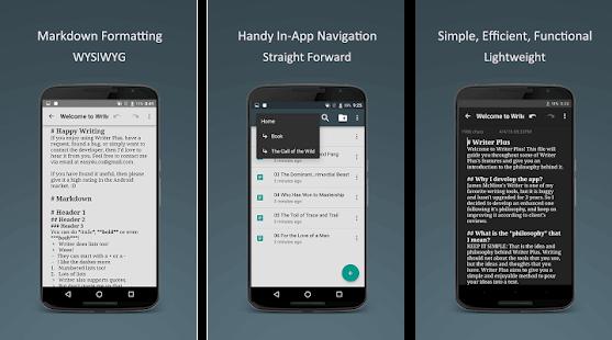 Writer Plus, aplikasi Android terbaik untuk blogger dalam menulis