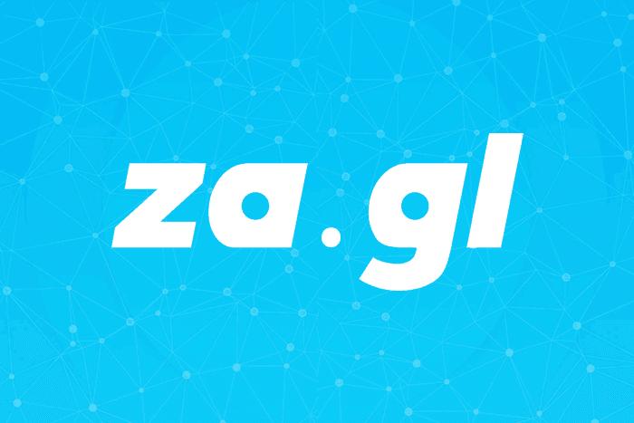 Za.gl - Url Shortener dibayar Bitcoin dan Dollar