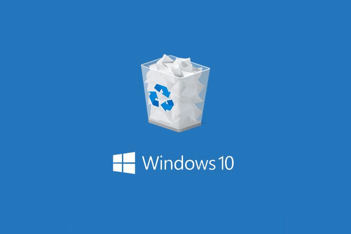 Cara Menghapus Recycle Bin dari Desktop Windows 10