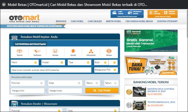 Konsultasi dulu dengan pihak Otomart untuk mencari rekomendasi mobil terbaik