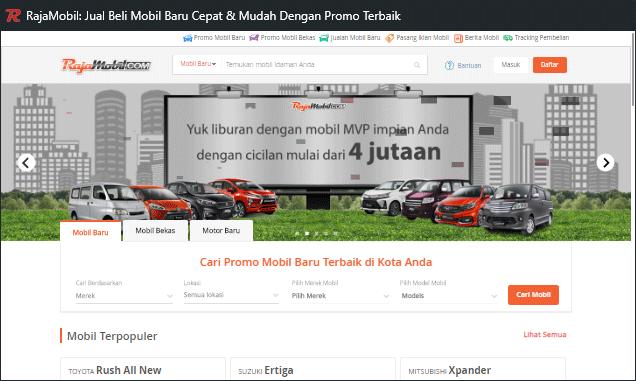 Rajamobil, dari iklan baris menjadi salah satu marketplace mobil bekas terbaik di Indonesia