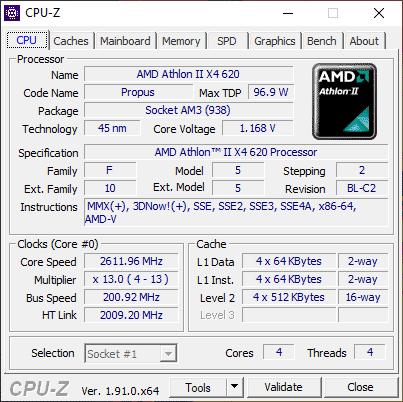 Cara melihat spesifikasi komputer dengan CPU-Z