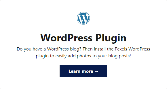 Download gambar gratis Pexels langsung dari blog WordPress