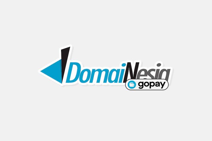 Blei nama domain bayar pakai Gopay di Domainesia