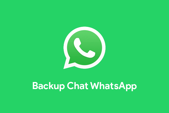 cara backup chat whatsapp dan memulihkan cadangan WA