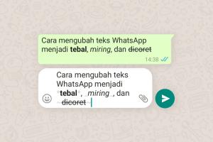 Cara Mengubah Font WhatsApp tanpa Aplikasi