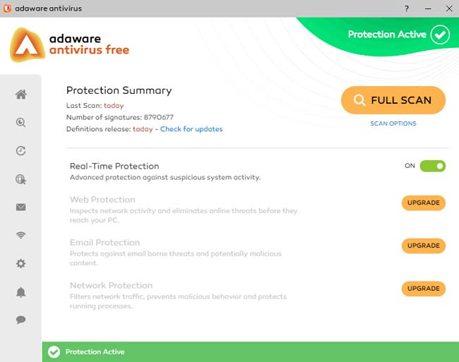 Ad Aware adalah aplikasi antivirus terbaik dan ringan