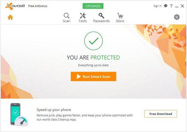 anti virus malware terbaik Avast