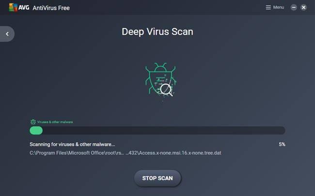 AVG adalah salah satu antivirus terbaik laptop windows 10